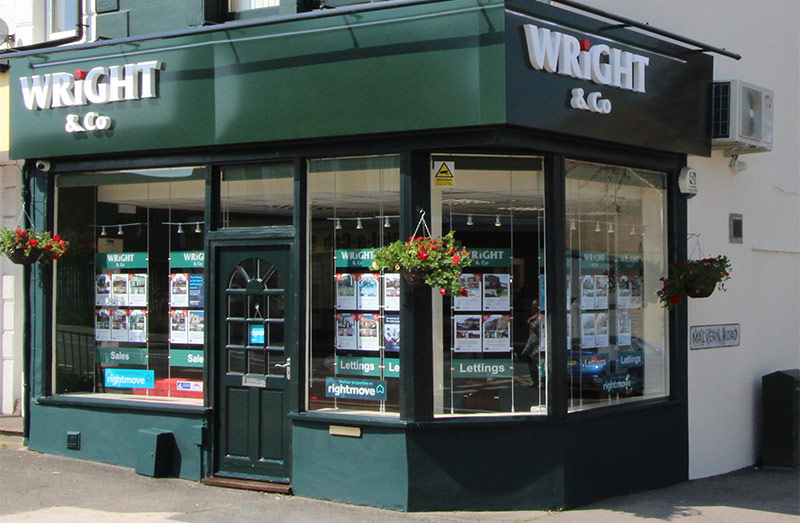 Wright & Co Shop Front